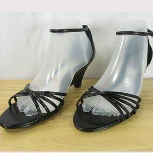 "Worthington 3"" High Wedge Ankle Strap Sandals 8.5"